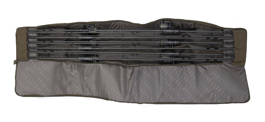 No space is wasted but your rods are still protected