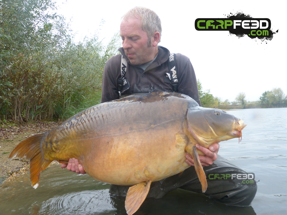 Captain Jack at 68lb 8oz. Caught in October 2017 by Nigel Ludbrook