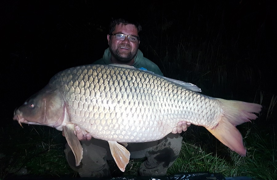 Another 50lb common for Arron