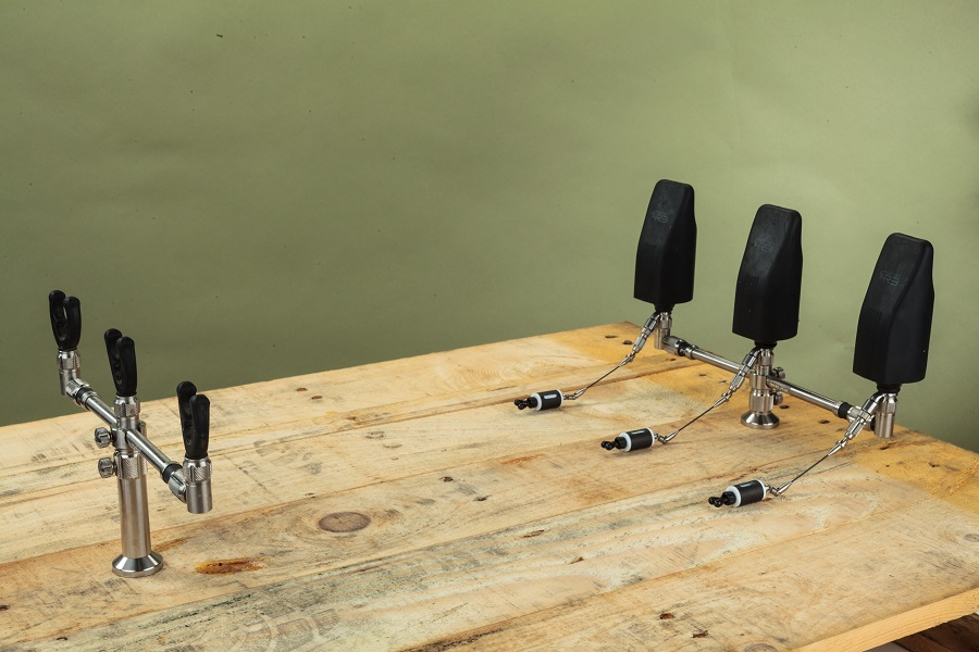 P1 Stage Stands. Buzzer bars not included