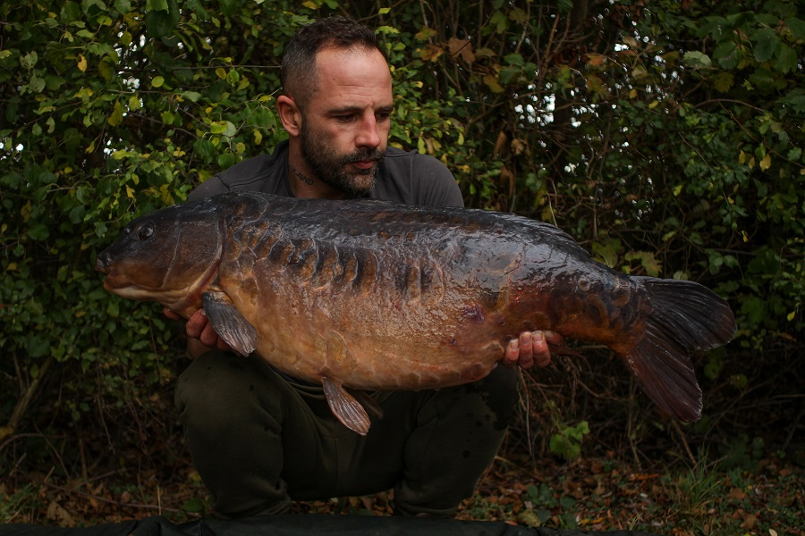 What a beauty! Gav's 36lb 6oz mirror
