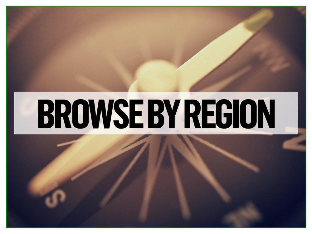 Carp venues by region
