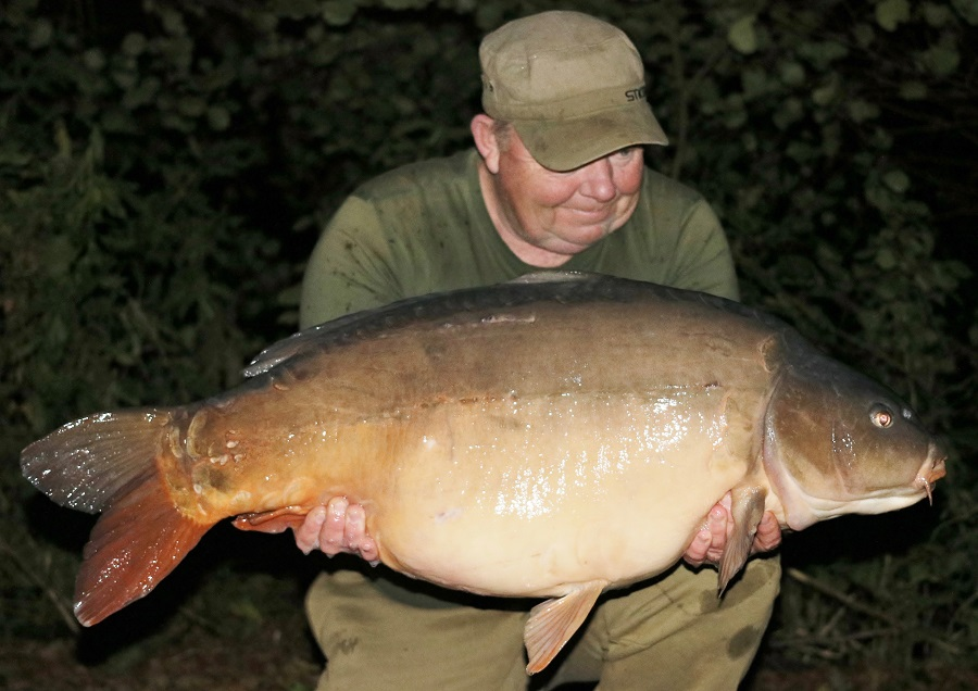 This 44lb 4oz mirror was the first of three 40s