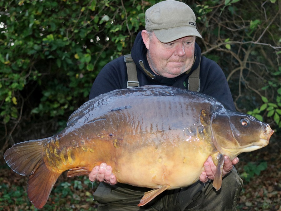 This 40lb 4oz mirror was the final one