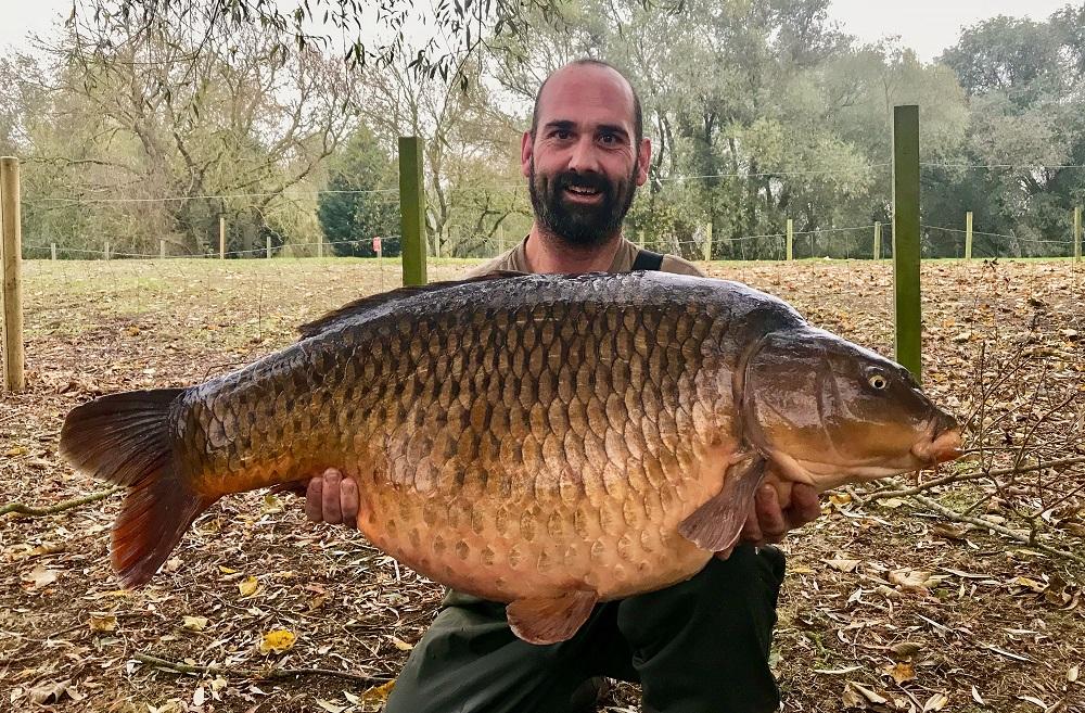 44lb of margin-caught common