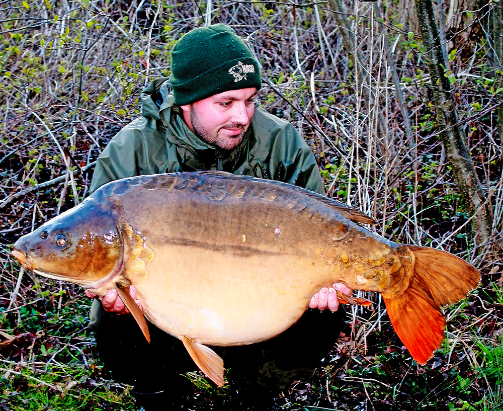 Black Spot's top weight of 60lb 8oz was the Carp Lake's previous biggest fish
