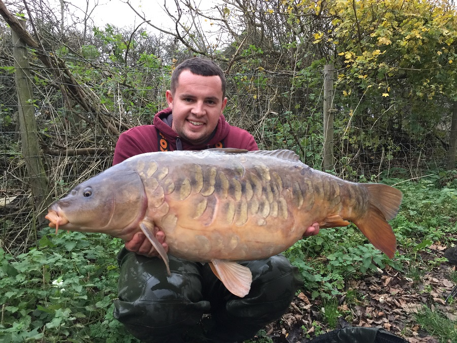 This 29lb 12oz mirror topped Tom's five-fish catch