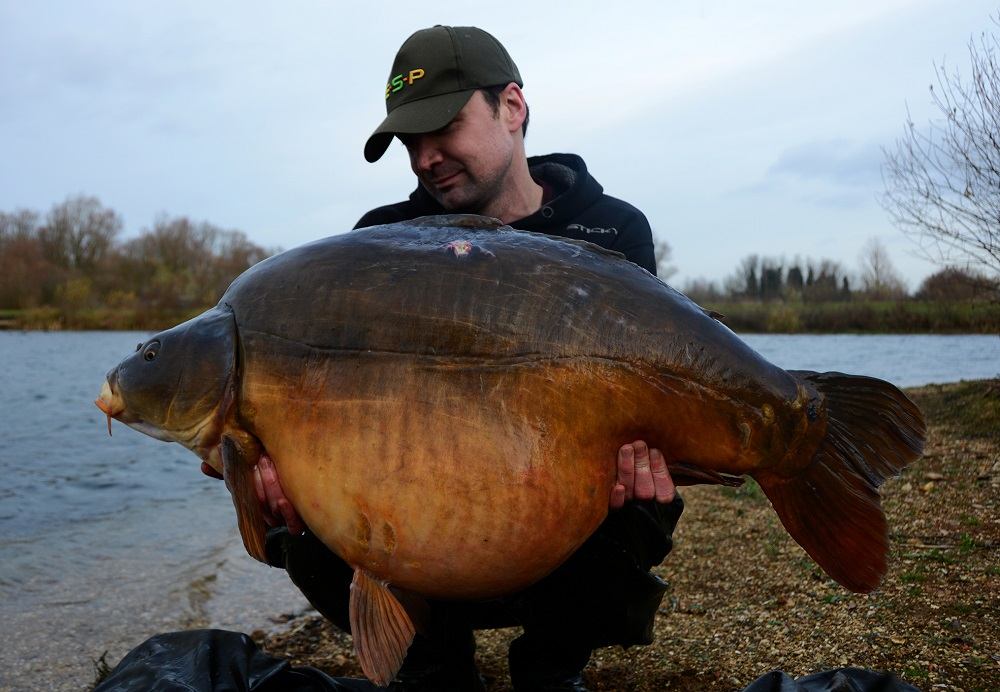 58lb of Holme Fen mirror