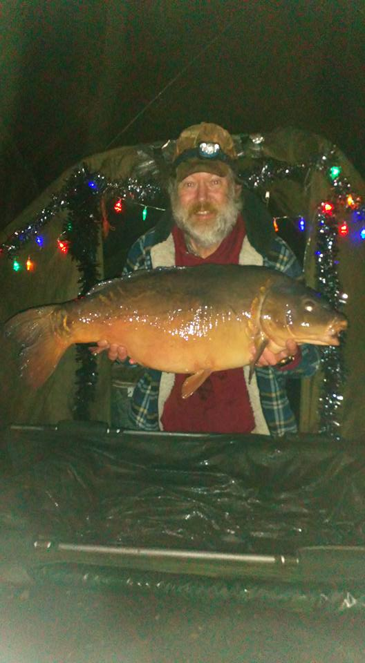 A better one followed on Boxing Day - 29lb 12oz!
