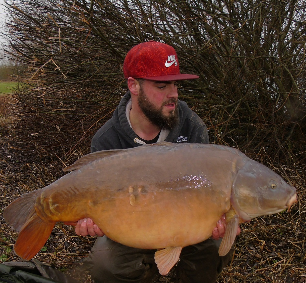 Jack's 43lb 1oz mirror from B1