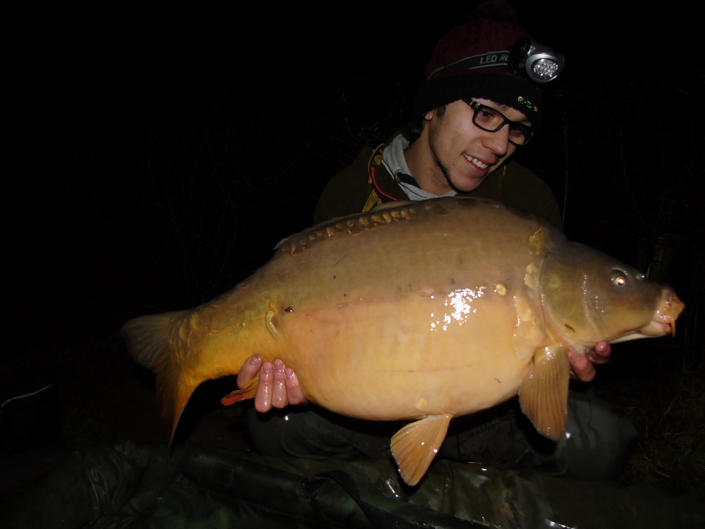 Jack's mate Ben Griffiths also bagged this 22-pounder on the same tactics