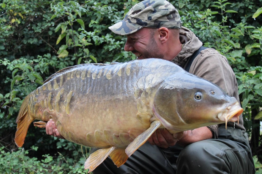 Adam with a clonking 47-pounder