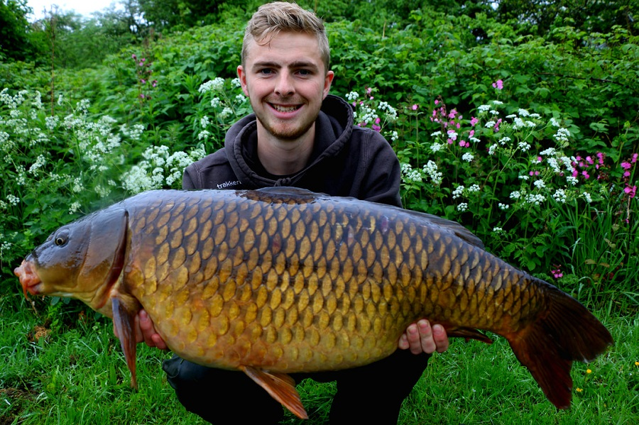 27lb 8oz common for Tom Lawrie