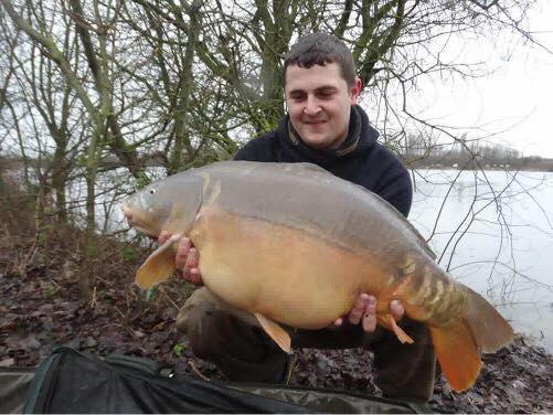 This 27lb mirror was Ryan's first fish of the trip