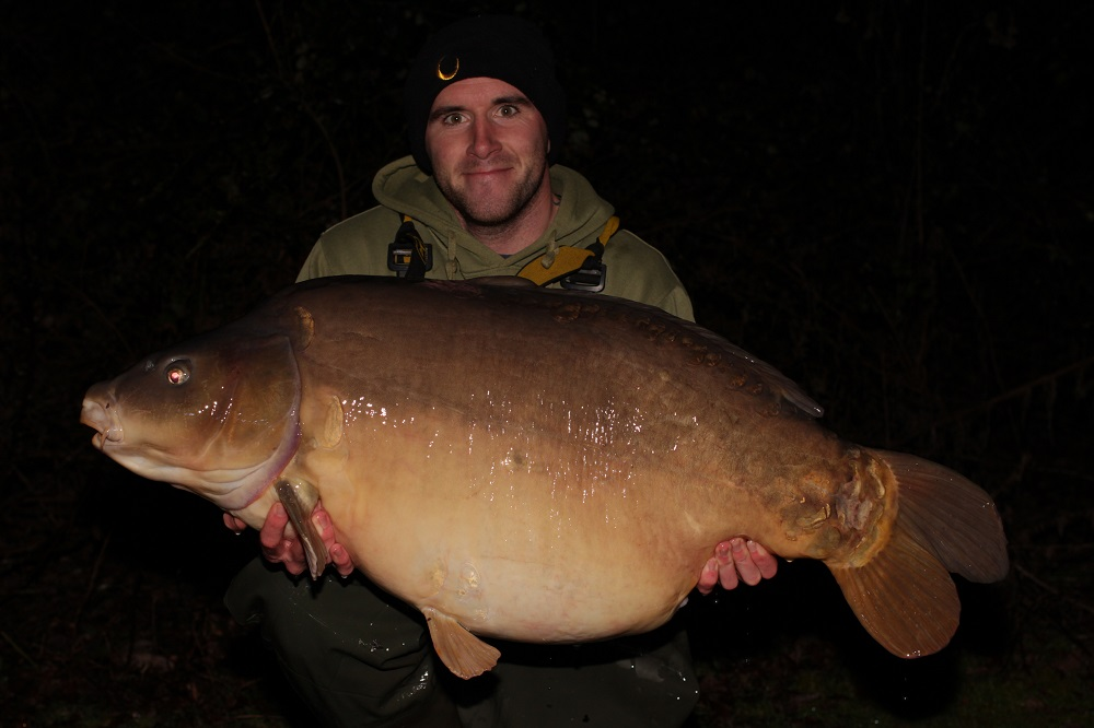 David Gaskin with a big Wellington Country Park mirror