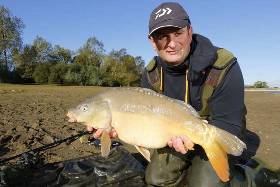 A typical Naseby carp for Steve Ringer