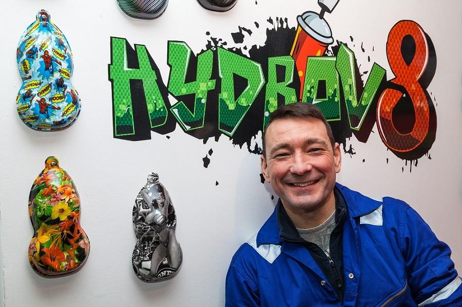Chris Hardman of Hydrov8 in Peterborough