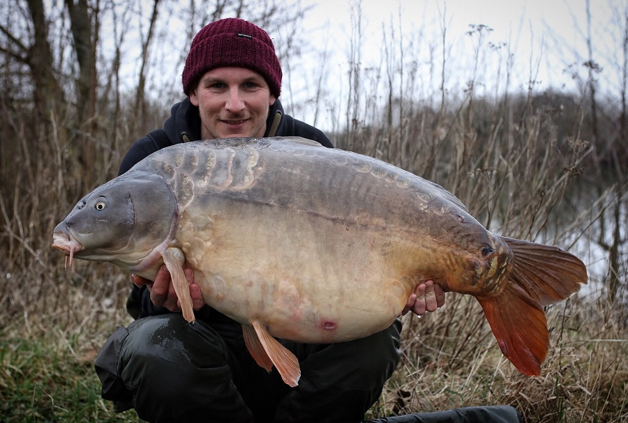 55lb 8oz of Crete Lakes mirror