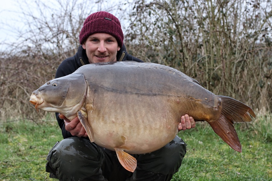 This one weighed 51lb