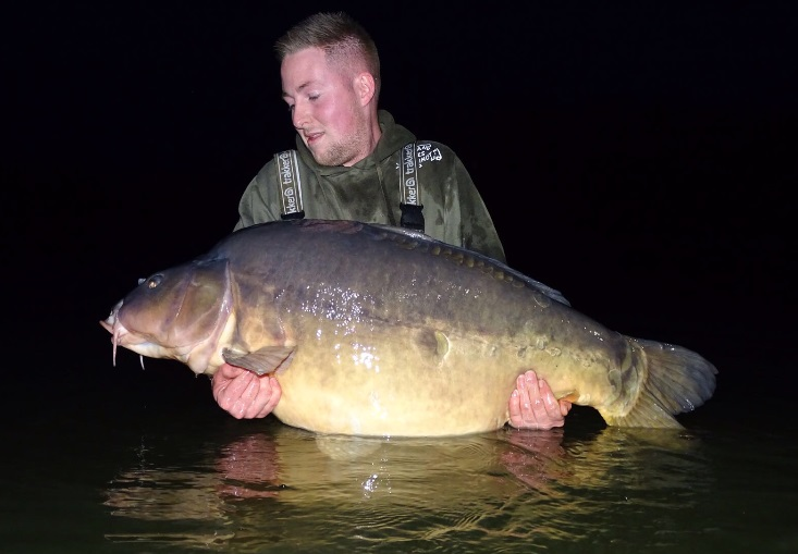 The mirror in all its glory at 74lb 4oz