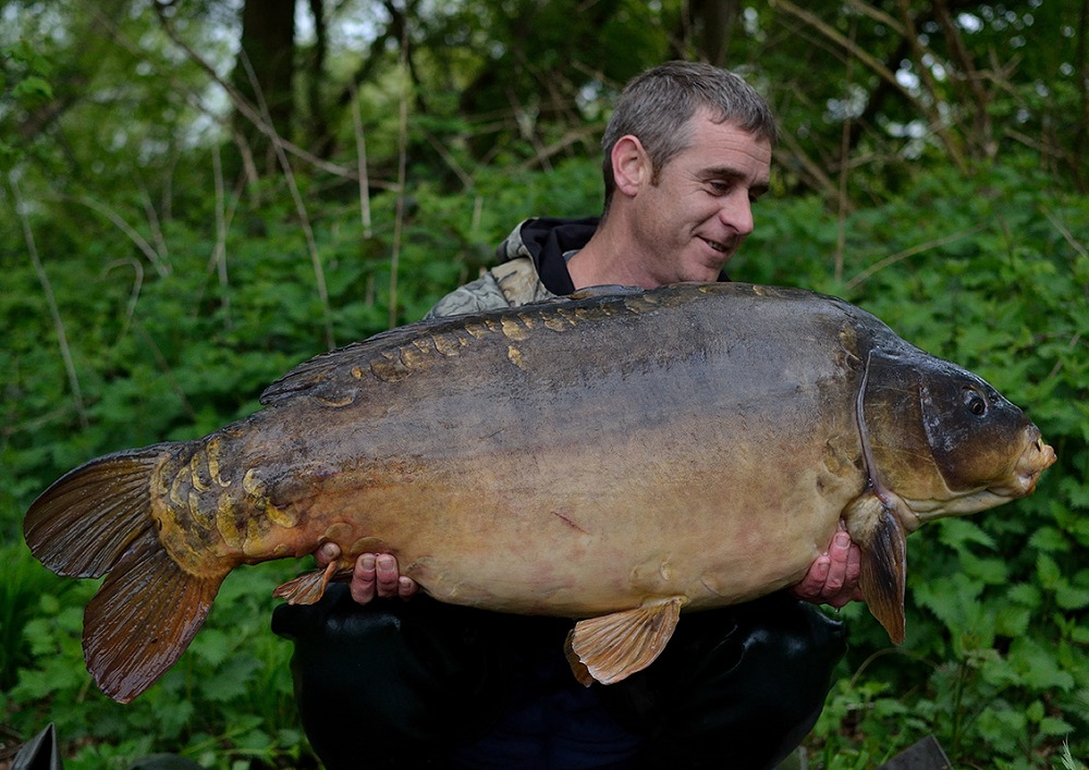 Simon is an almost peerless big-fish angler, but he's remind largely under the radar