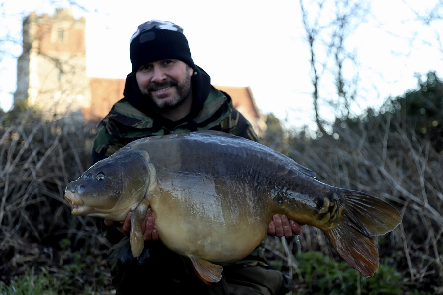 This 40 was caught on the day we spoke to Dave