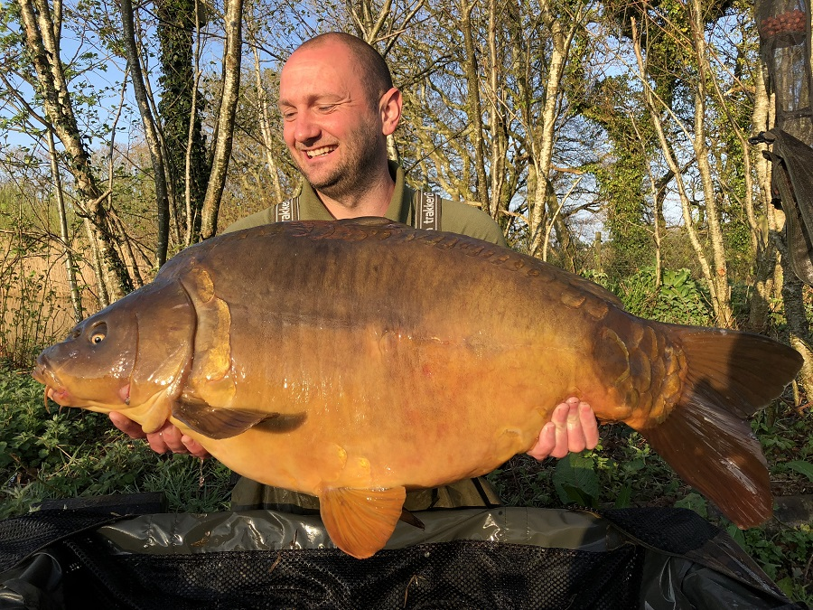 37lb 10oz of pb mirror for Andrew