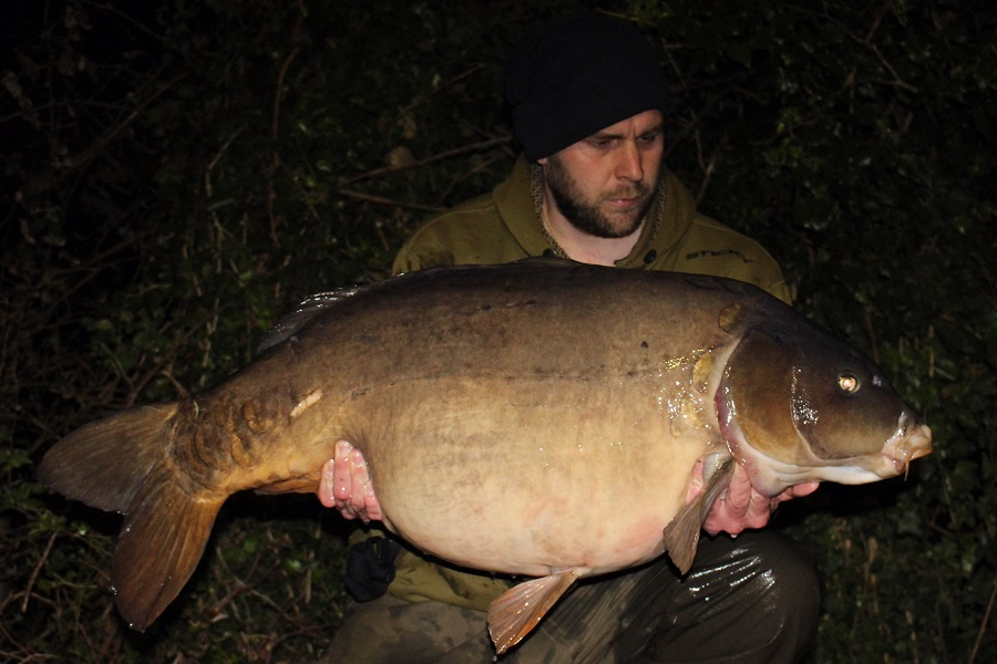 The biggest of the lot was Fingers at 52lb 14oz