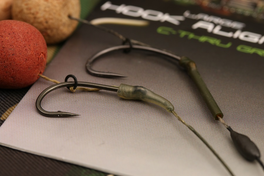 Match the shape and size of the kicker to the hook pattern