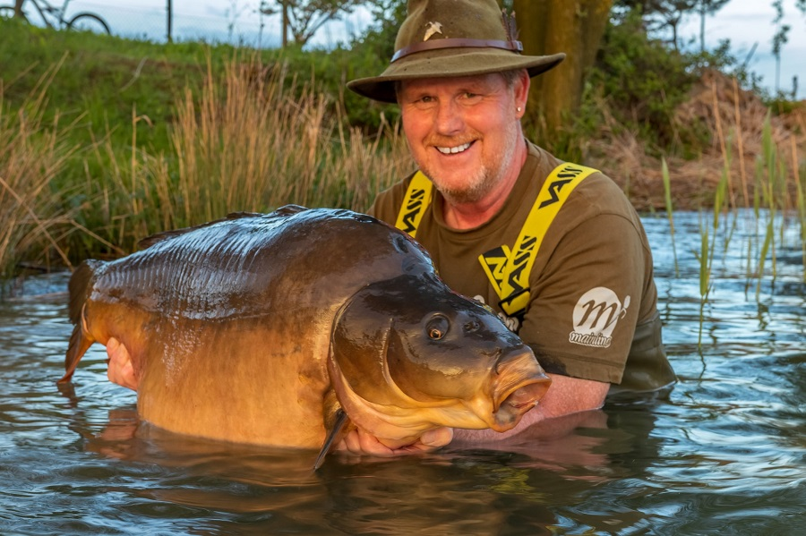 Grenville's biggest-ever fish at 59lb 1oz