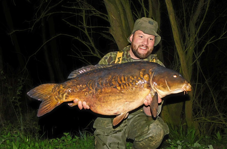 This 37lb 2oz beaut was part of Steve's haul