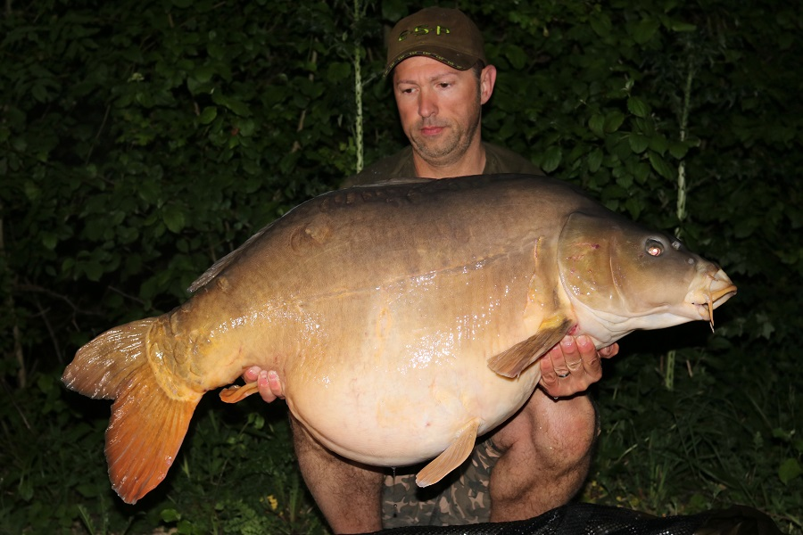 This 62lb 8oz mirror came first