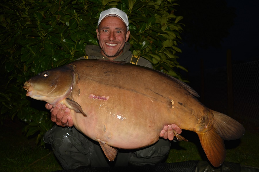 The biggest fish went 53lb 14oz