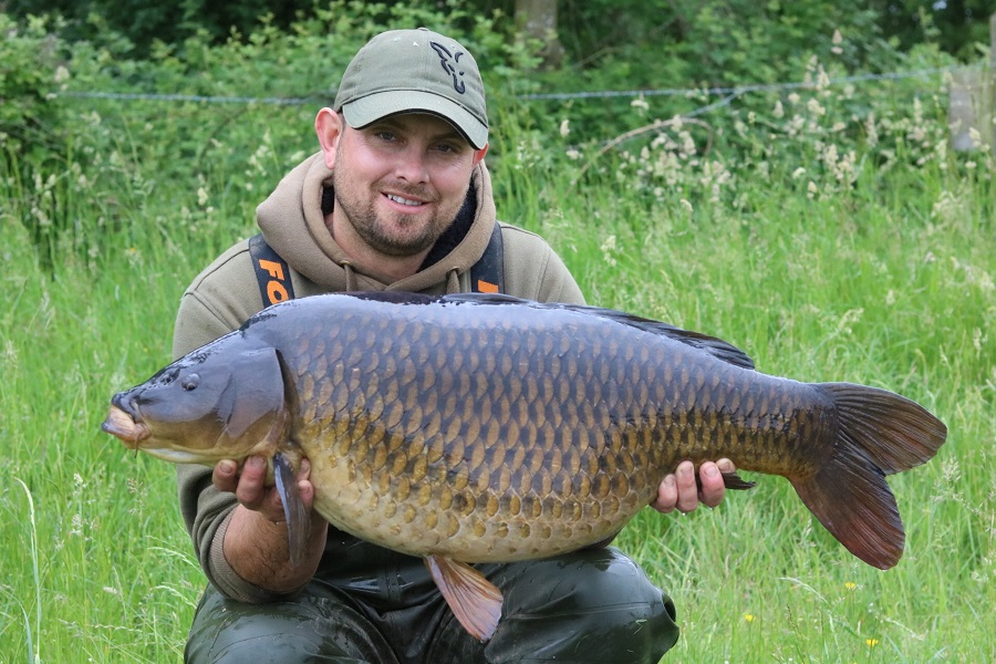 This 34lb 8oz common came off the bottom early in the trip