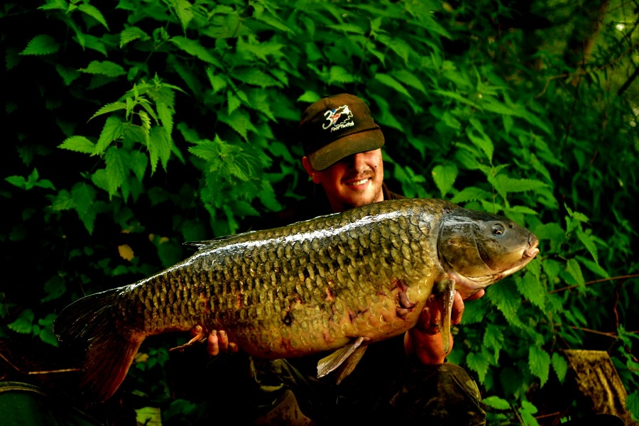 28lb 6oz of River Trent carp for Richard Easom