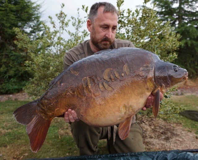 This fish weighed 28lb 12oz