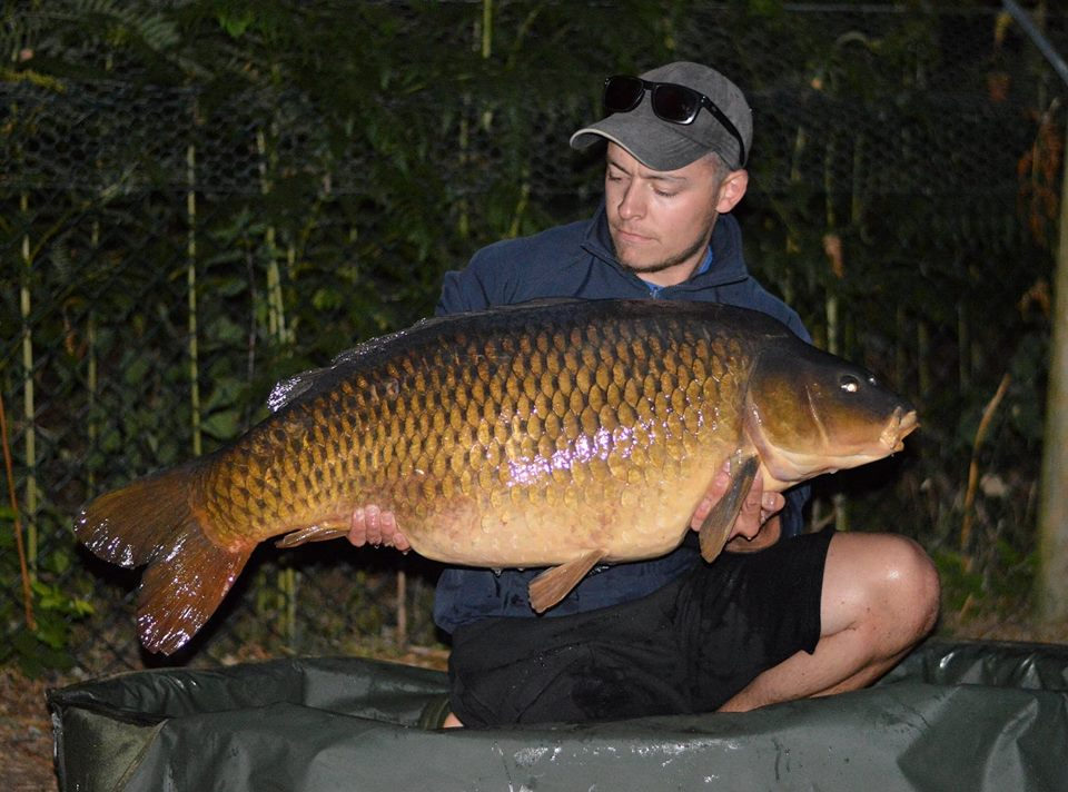Dan with his 52lb 10oz prize