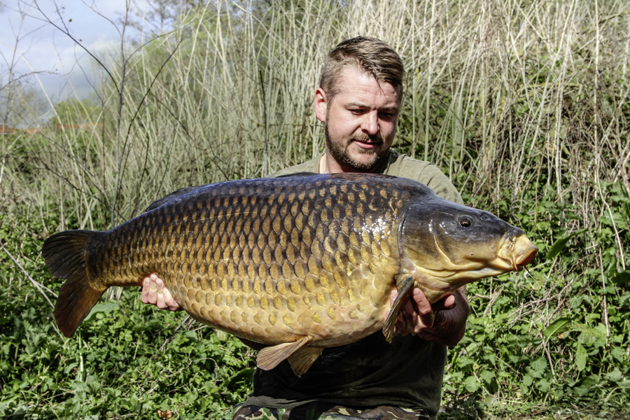 Scott with the Burghfield Common in 2017