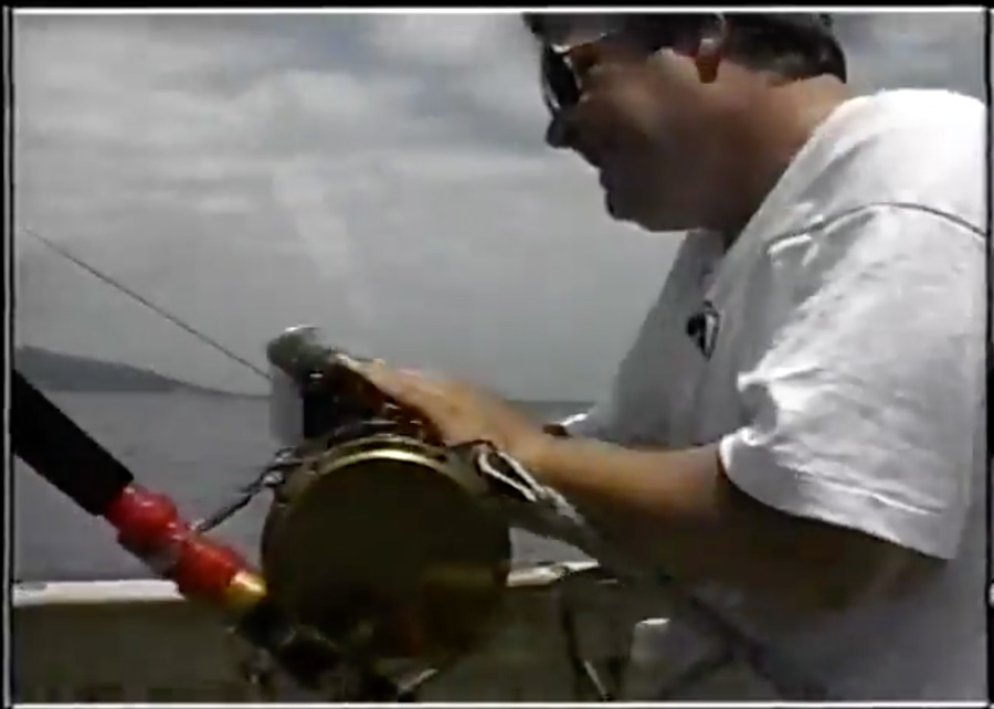 Liam on the Big Catch on BBC2 in 1997. youtube.com/kbomedia