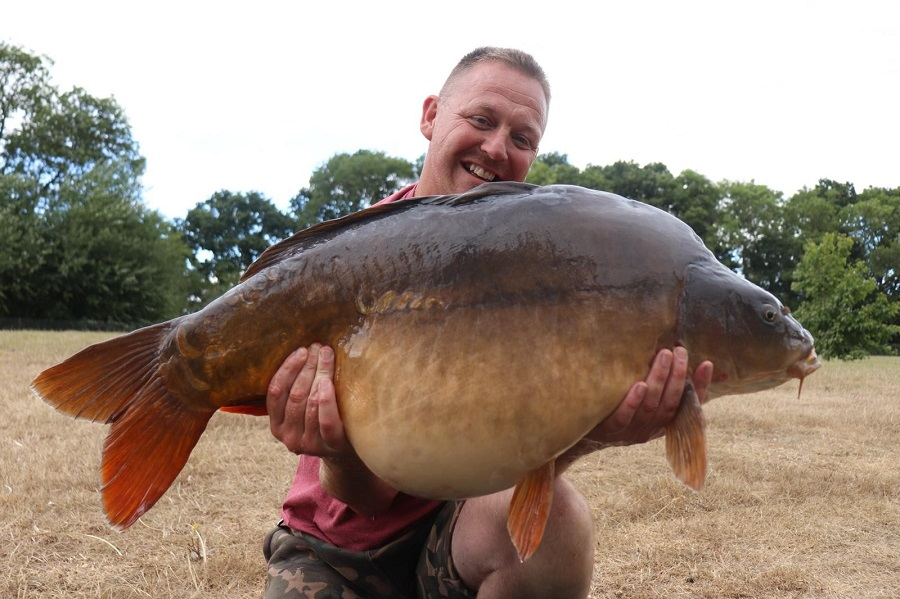The Babe at 42lb 4oz