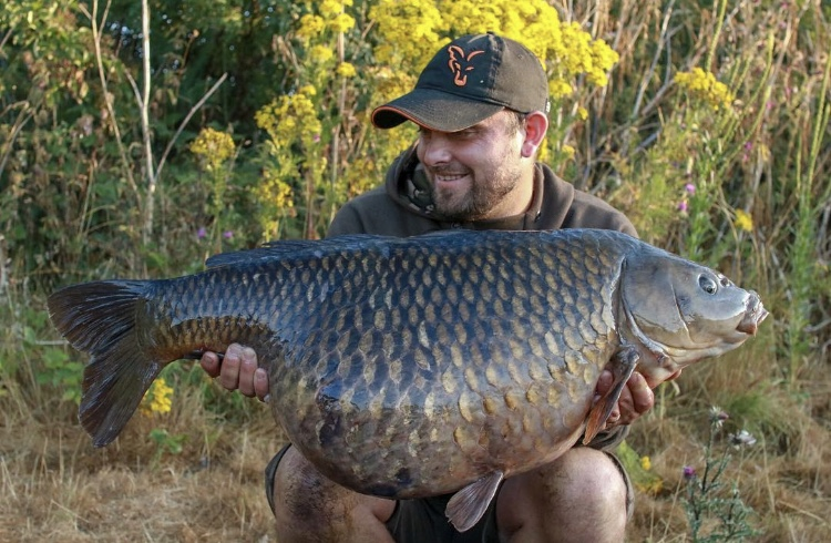 This 42lb 10oz common had not topped 40lb before