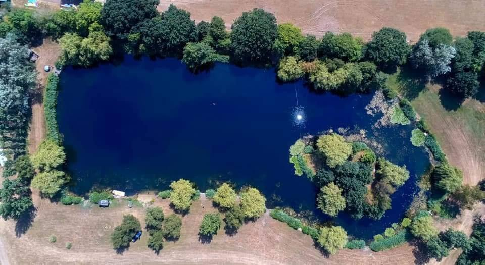 A French lake that feels like a British one, says the owner