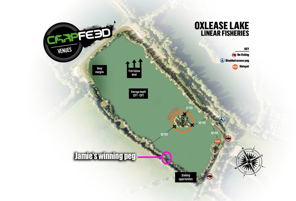 Jamie's winning swim. CLICK THE IMAGE FOR OUR OXLEASE GUIDE