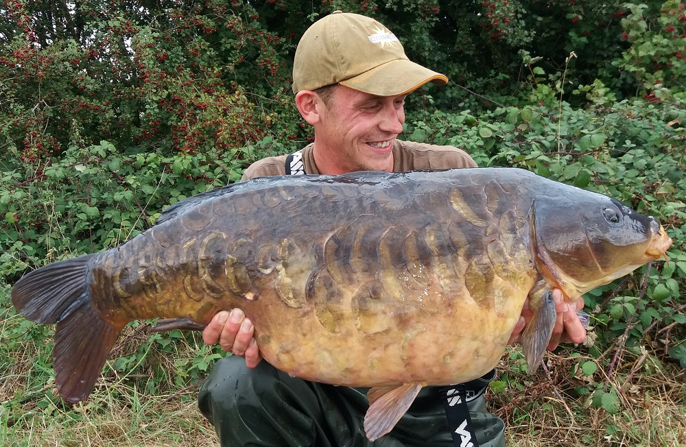 Ordinarily, this 35lb 10oz mirror would've been the fish of a lifetime from the Thames