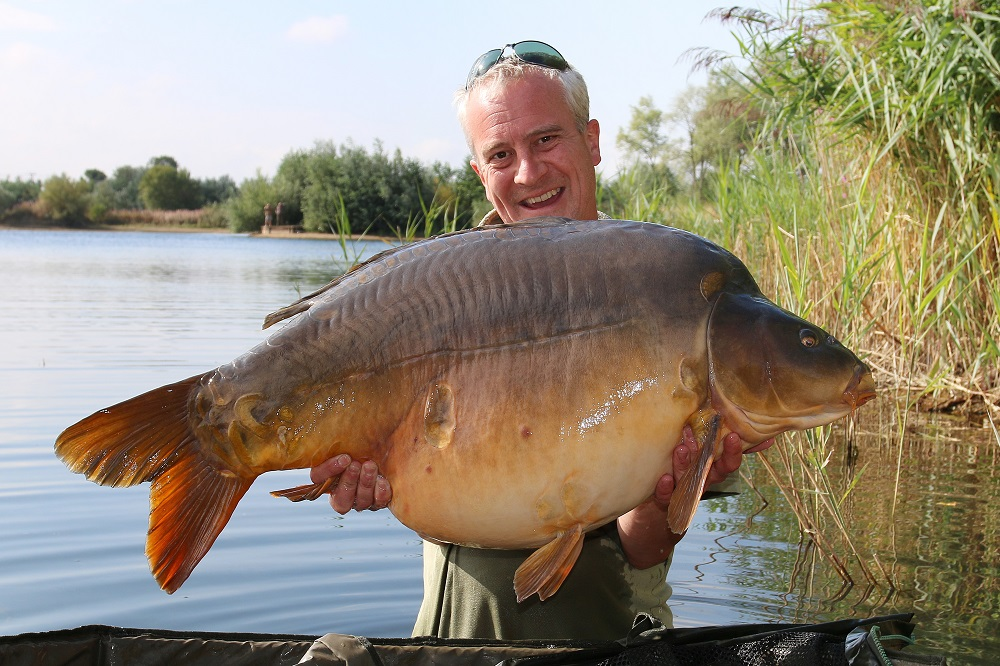 59lb 8oz of Holme Fen mirror