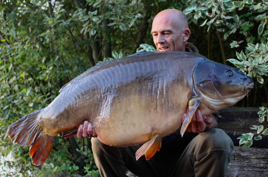 First time round: Black Spot at 54lb 10oz