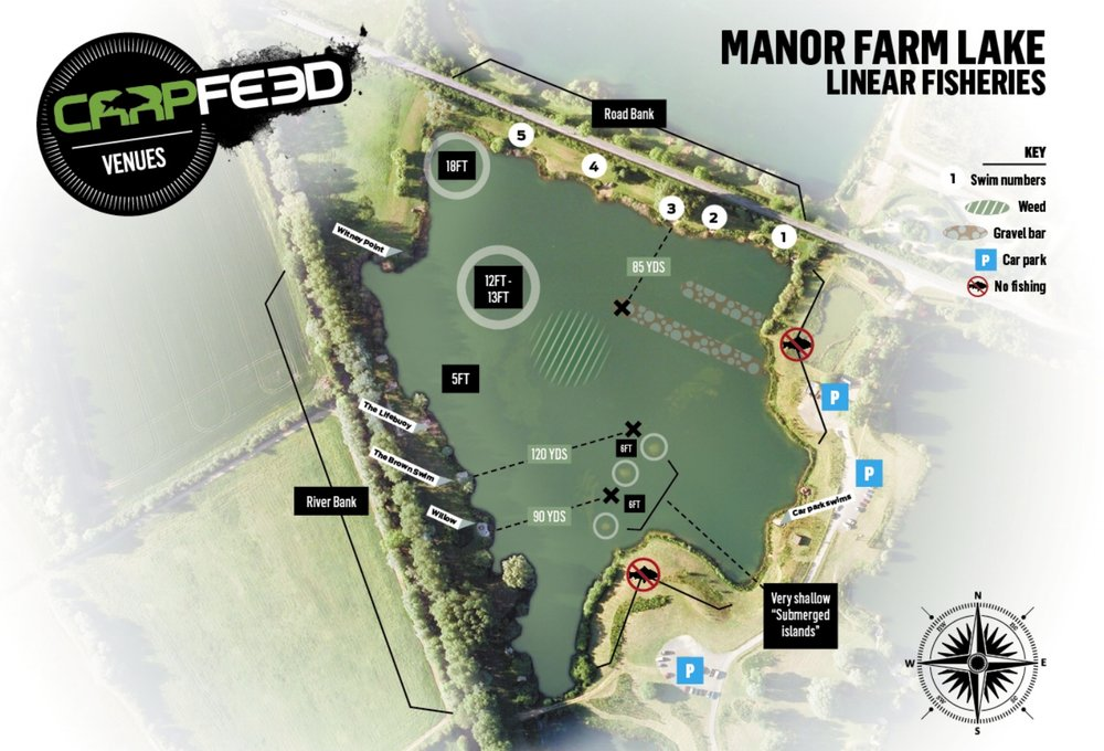 CLICK THE MAP FOR OUR GUIDE TO LINEAR MANOR FARM