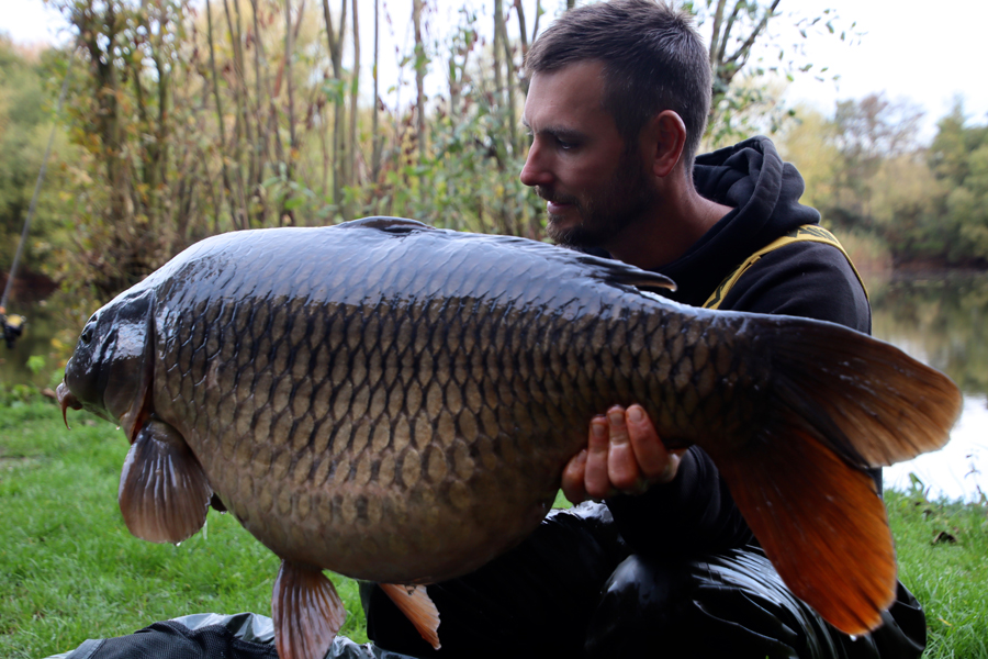 It's been a busy few weeks for Graham Mabey, but he's managed to get among them!