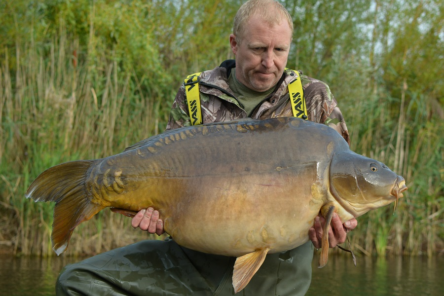 Vinny Parker caught Captain Jack at 69lb 10oz in September 2018