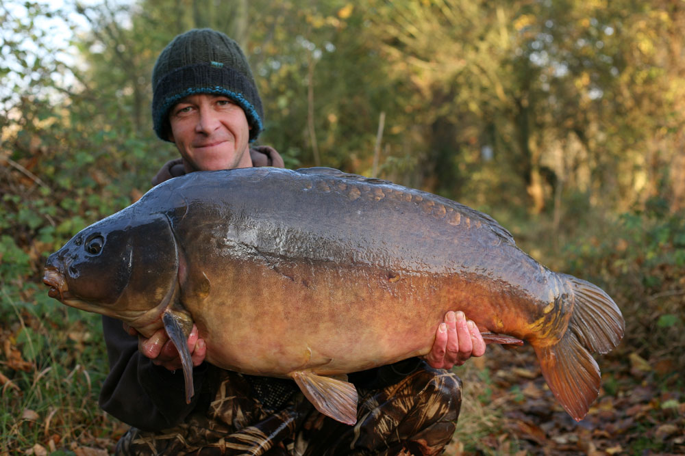 Terry Hearn caught the Chertsey Fish  at 51lb 4oz in 2011  but is this new 'record' a different mirror from the same Surrey venue?